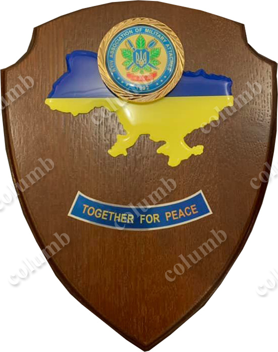 "Плакетка ""Defence Attache Association"""