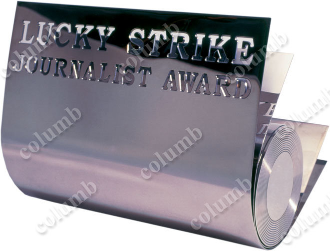 "Сувенір ""Lucky Strike Journalist award"""